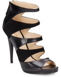 Nine West Amability Strappy Leather Pumps - Lyst