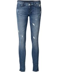 Ksubi Skinny Mid-Rise Stretch-Denim Jeans - Lyst
