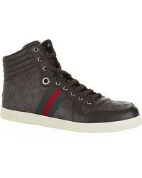 Gucci Sima High Top Sneaker - Lyst