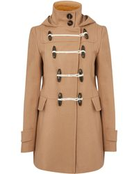 Therapy Hooded Duffle Coat - Lyst