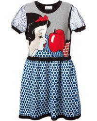 RED Valentino Snow White Dress - Lyst