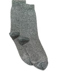 Isabel Marant Yiley Sock - Metallic