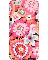 Vera Bradley Iphone 6 Plus Snap On Case - Lyst