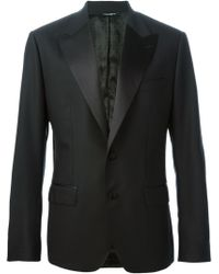 Dolce & Gabbana Black Classic Suit - Lyst