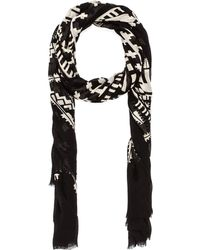 Twelfth Street Cynthia Vincent All Tribes Scarf - Black
