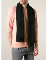 Diesel Ribbed Scarf and Beanie Hat - Lyst