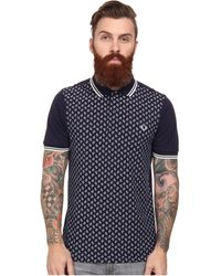 Fred Perry Drakes Paisley Panel Shirt - Lyst