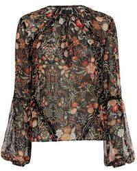 Exclusive For Intermix - Mercer Embroidery Detail Blouse - Lyst