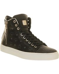 MCM Urban Nomad Iii High-Top Trainers - For Men - Blue
