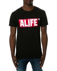 Alife The Box Logo Tee - Lyst