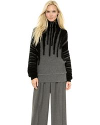 Viktor & Rolf - Long Sleeve Sweater  Greyblack - Lyst