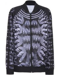 Mary Katrantzou Printed Bomber Jacket - Lyst
