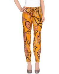 Gucci Casual Pants - Orange