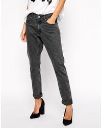 Cheap Monday Thrift Boyfriend Jeans - Black