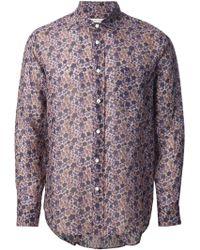 Marc Jacobs Floral Print Shirt - Lyst