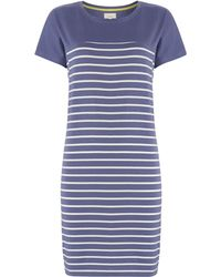 Linea Weekend Colourblock Stripe Dress - Lyst