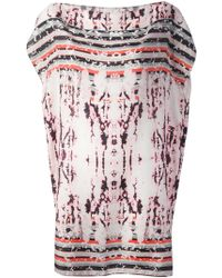 The Textile Rebels - Abstract Print Tunic Top - Lyst