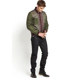 G-star Raw  Clackby Reversible Bomber - Lyst