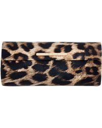 River Island - Brown Leopard Print Hard Sunglasses Case - Lyst