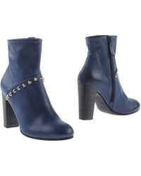 NDC Blue Ankle Boots - Lyst