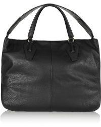Halston Heritage Textured-leather Tote - Lyst