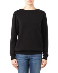 Freda Boat-neck Cashmere Sweater - Lyst
