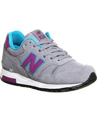 New Balance 565 Suede Trainers - For Women - Lyst