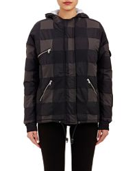 Boy by Band of Outsiders - Check Hooded Puffer Coat - Lyst