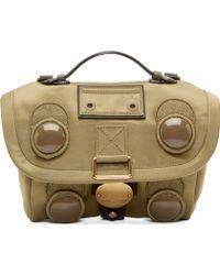 Marc Jacobs Green Mini Trooper Shoulder Bag - Lyst