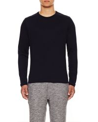 Theory Andrion Ls Tee in Catapolt Rib - Lyst