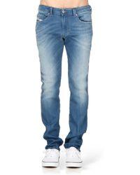 Diesel Slim - 00S5Bl0837Tthavar-Ne Sweat Jeans - Lyst