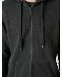 Diesel Printed Hooded Jacket - Lyst