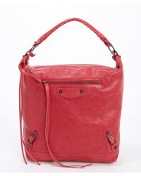 Balenciaga Rose Thulian Leather Classic Day Bag - Lyst