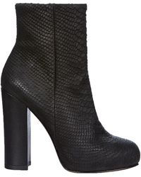 Ash Boots Darling Python Calfcow Plonge - Lyst