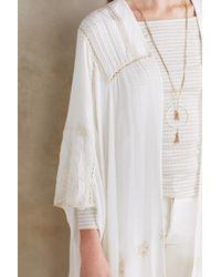 Elevenses - Embroidered Vivonne Kimono - Lyst