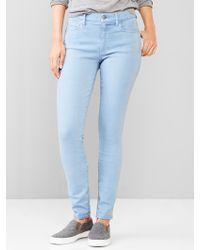 Gap 1969 Resolution True Skinny Jeans - Lyst