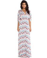 Rachel Pally Long Caftan Dress - Lyst