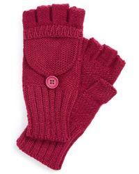 Echo - Pop Top Gloves - Purple - Lyst