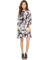 Rebecca Minkoff Linda Dress  Marshall Print - Lyst
