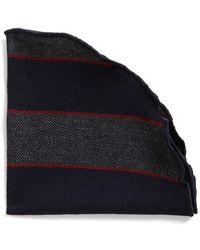 Alexander Olch - Stripe Wool & Cashmere Pocket Round - Lyst