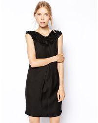Coast Black Athene Dress - Lyst