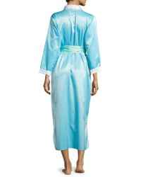 Louis At Home - Monte Carlo Satin Long Robe - Lyst