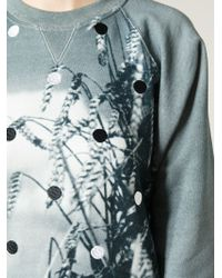 Jean Paul Gaultier - Printed And Embroidered Sweatshirt - Lyst