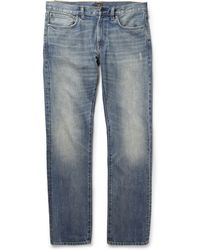 J.Crew | 484 Slim-Fit Washed Denim Jeans | Lyst