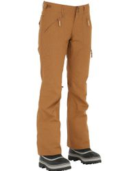 Roxy Wood Insulated Snowboard Trousers - Brown