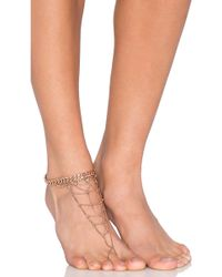 Luv Aj - X Revolve Exclusive Anklet - Lyst