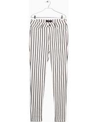 Mango Striped Slim-Fit Trousers - Lyst