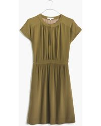 Madewell Silk Moonset Dress - Lyst