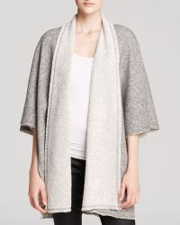Eileen Fisher - The Fisher Project Open Front Cape - Lyst