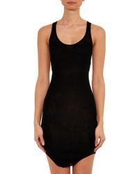 Etoile Isabel Marant Lena Ribbed-Cotton Dress - Lyst